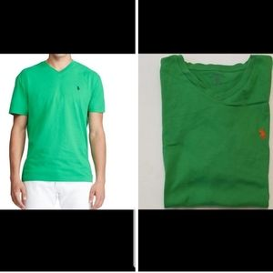 Polo Ralph Lauren V-neck T-shirt Medium